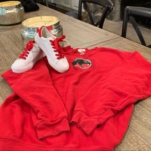 Vintage Adidas Sweatshirt*L and Sneaks*6❤️